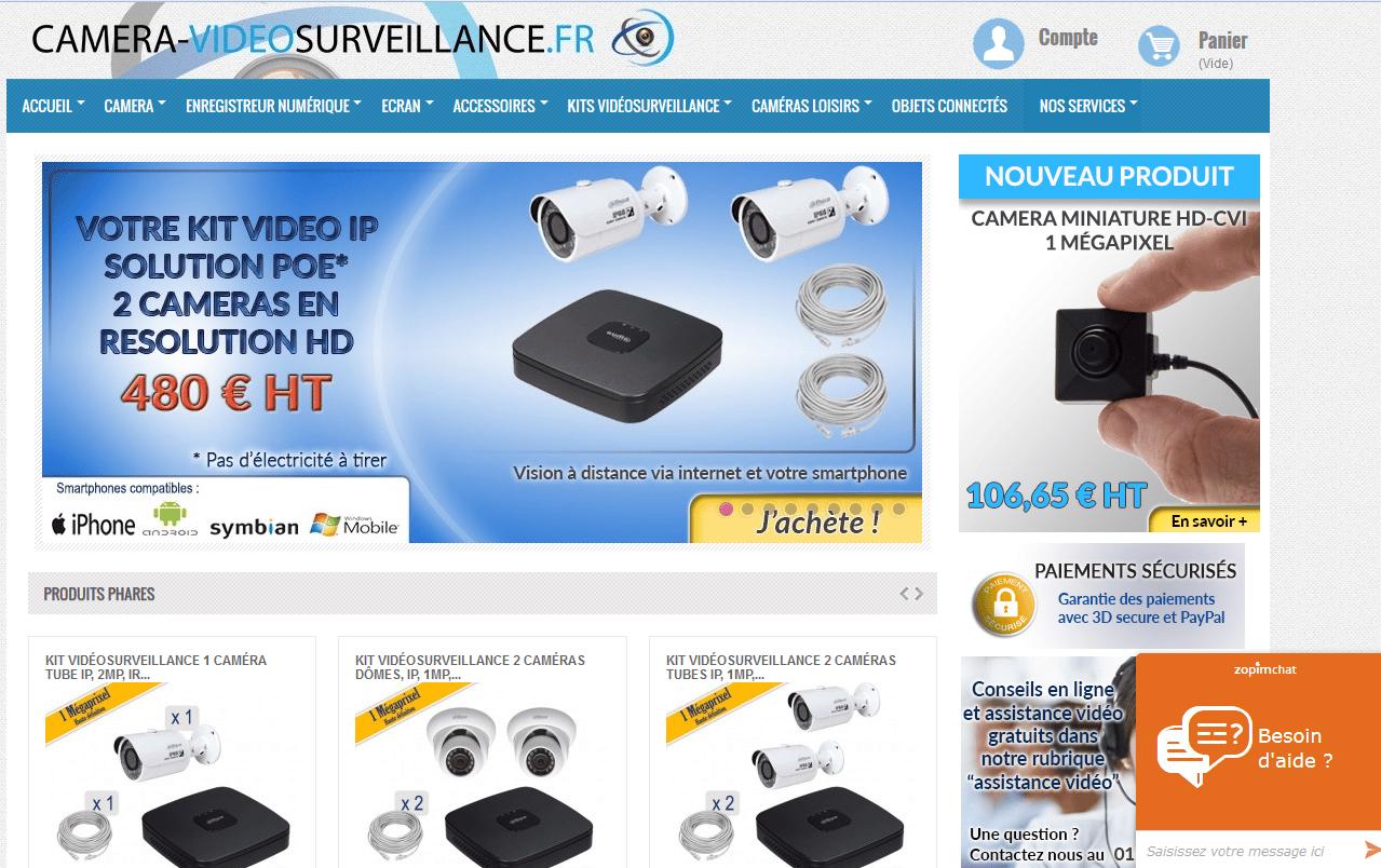 installation d'une caméra de vidéosurveillance en hindi