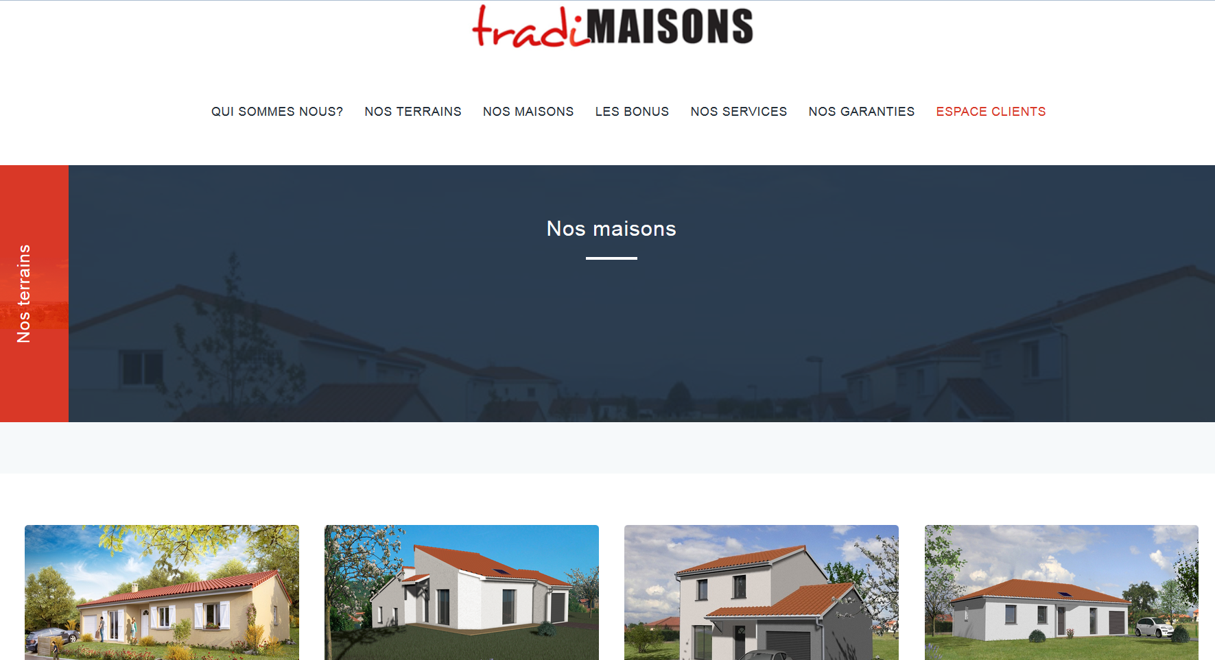 Tradimaisons constructeurs de maison cl en main dans la for Constructeur de maison individuelle clermont ferrand