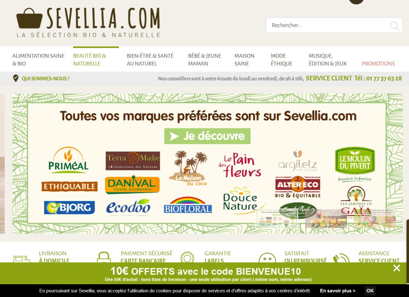 Sevellia un magasin bio en ligne top societes - Tout pour la maison en ligne ...