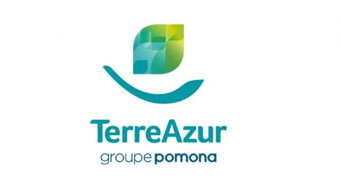 Logo du grossiste alimentaire et poisson frais TerreAzur du Groupe Pomona